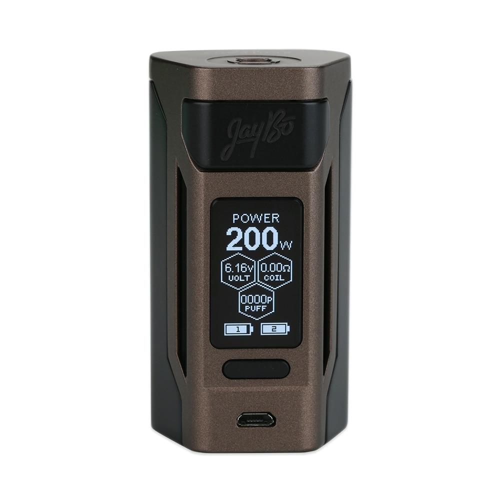 Retail Original Wismec Reuleaux RX2 20700 TC Box Mod 200W